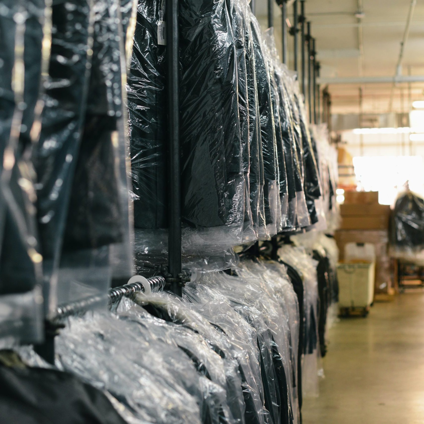 Our Dry Cleaning Process